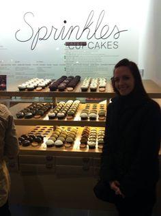 At Spinkles in Georgetown!  So fun!