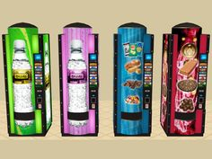 Mod The Sims - Colour Matching Vending Machines