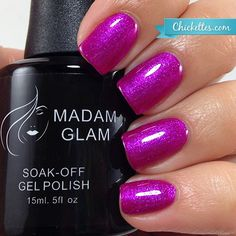 Madam Glam Not Only You and Me - swatch by Chickettes.com