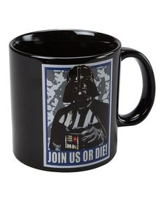 Take a look at this Darth Vader 20-Oz. Mug by Star Wars on #zulily today! Come and get your coffee!