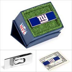 $45.00 NFL New York Giants Money Clip #Walletoutlet #MoneyClip #NFL #NewYorkGiants http://www.walletoutlet.com
