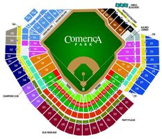 Comerica Park Seating Chart - Detroit Tigers - Find your seat for the Detroit Tigers game including entrance locations. Detroit Tigers Game, Party Corner, Orioles Baseball, Baseball Caps, Year Of The Tiger, Deck Party, New Amsterdam, Harry Styles Wallpaper, Dune