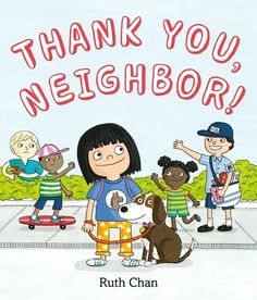 Join our narrator and her dog on their daily walk as they greet the people in their neighborhood—from the mail carrier and bus driver to the sanitation workers and grocery clerks and more. Whether listening, asking, helping, or just saying hello and thank you—it is our patience and kindness that make a neighborhood feel like home. This charming story gently reminds us to slow down and be grateful for all the people, places, and things around us. Who Is My Neighbor, National Book Store, Reluctant Readers, Early Readers, Special Pictures, Teen Pictures, Bus Driver, Free Candy, Gifts For Readers
