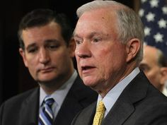 "Defiant Jeff Sessions on 'Gang of Eight': 'Every Step of the Way, Ted Cruz Was on My Side' - He was NOT a backer of the 2013 immigration reform effort by the so-called ""Gang of Eight."""