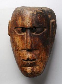 Antique Himalayan primitive mask, Himalayan art, himalayan antiques, asian ...tribalartantiques.com