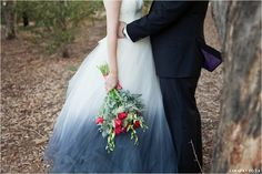 Red, Navy, White Wedding. Red Colour palette, Modern Wedding, Ombre Wedding Dress,Red Tulips,  www.lunafay.co.za