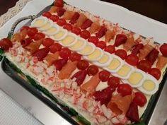 Sandwich Cake, Sandwiches, Crazy Cakes, Breakfast Buffet, Sin Gluten, Kitchen Recipes, Catering, Good Food, Brunch