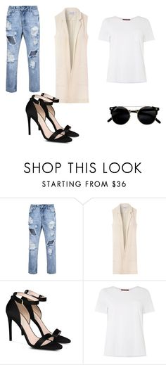 """elegant"" by projekttrool on Polyvore featuring moda, Glamorous, STELLA McCARTNEY i MaxMara"