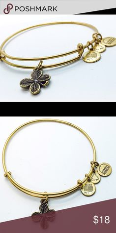Alex and Ani Lucky Clover EWB RG New with no tags!!                                                        Pictures by me!! Alex & Ani Jewelry Bracelets