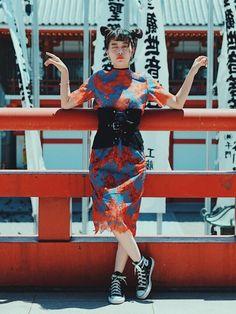 【UNITED TOKYO × TAE's Styling vol,4】 花柄セットアップをチャイナ Tokyo Fashion, Runway Fashion, Punk Fashion, Fashion Trends, Fashion Design, Womens Fashion, Fashion Art, Play Clothing, Poses