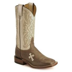 Tony Lama cross inlay cowgirl boots :D these would go with so many outfits!