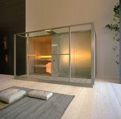 effegibi logica sauna and hammam seamlessly adapts to perfect spa spaces Saunas, Finnish Sauna, Sauna Room, Steam Room, Steam Showers, Bath Fixtures, Home Spa, Designer, Showroom