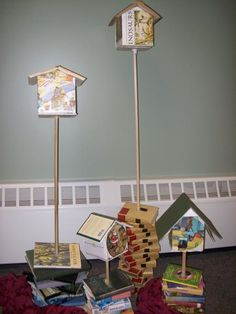 Repurposed books | North Country Library System