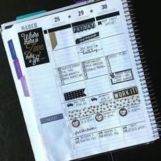 Last weeks completed #plannerspread with #blackandgold focus • • • #plannerstamps #plannergirl #plannernerd #sweetstampshop #studioL2E #myeverythingplanner #paperplumplanner #paperplum #planwithme #planneraddict #plannerfriends #plannercommunity #planplanplan #plan #planner #getyoplanon