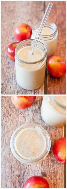 Spiced Apple Pie Smoothie - Delicious Recipeez