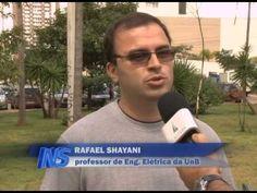 Morador do DF produz energia em casa e vende parte á rede pública - YouTube