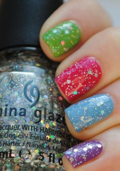 China glaze - Cute for summer toes!