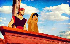 Disney Crossover Couples | disney crossover Sinbad/Jasmine