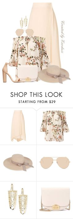 """""""Vacay"""" by exoduss ❤ liked on Polyvore featuring Fendi, Sans Souci, Eugenia Kim, Linda Farrow, Lana, Victoria Beckham, Charlotte Russe, contestentry, BeachPlease and spring2018"""