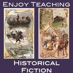 Enjoy teaching historical fiction with picture books and novels. Choose books to enhance your social studies units. They'll bring history to life!