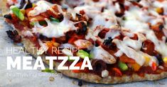 In the food blog world, recipes come and go, just like fashions. Meatzza, basically low-carb, gluten-free pizza with a meat crust, was all the rage a while back. I introduced my variation of Meatzz...