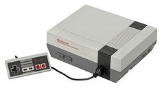 My first video game consoles the good old  NintendoEntertainment. System aka NES 1984