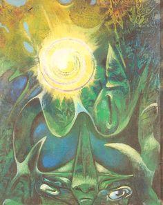 Max Ernst ~ The Golden Eye, 1948 (oil)