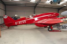 De Havilland DH88 COMET, G-ACSS, Shuttleworth Collection, Old Warden, UK