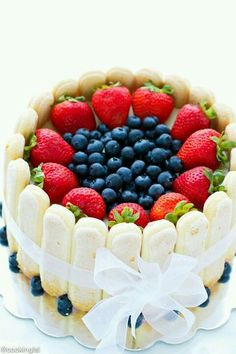 Carlota de frutas