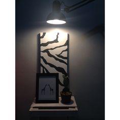 Hello zebra painting