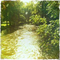 'Nelle tenebre, ovunque si camminasse, il fragore del fiume sembrava seguirti. I numerosi ponti e ponticelli dettavano una specie di ritmo e ponevano delle pause all'interno di quel panorama fluviale. Le persone erano infatti costrette a fermarsi e a confrontarsi con l'acqua.' (B. Yoshimoto, 'Lucertola')