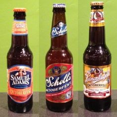 This week we reviewed three different Oktoberfest-style beers on the Off Sale Podcast. The majority winner of this battle was Schell's.