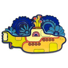 Beatles Yellow Submarine Belt Buckle
