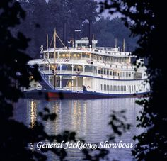 General Jackson Showboat, Nashville, TN, our first trip from Ft. Rucker. The beginning of many trips across the country as we followed the boys careers.