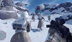 Star Wars Battlefront gameplay footage shown at E3