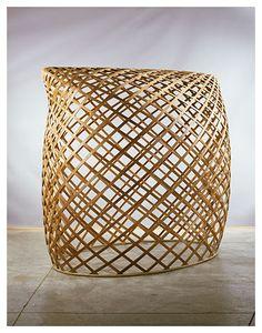 Martin Puryear, Brunhilde, 1998-2000; cedar and rattan
