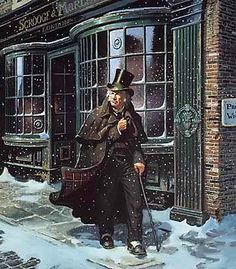 Ebenezer Scrooge    A Christmas Carol Not just one of my favorites at Christmas but one of my all time favorite stories.