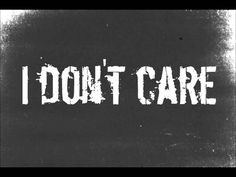 I Don't Care - Apocalyptica (Lyrics)