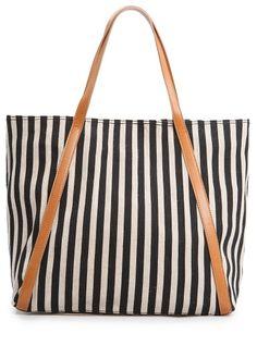 MANGO - Cotton shopper bag