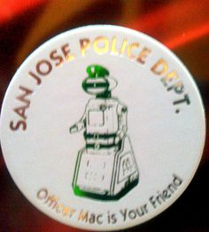 Pog of Officer Mac from the San Jose Police Dept.