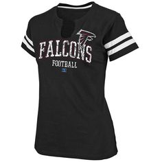 Atlanta Falcons Go For Two S/S Women's Tee