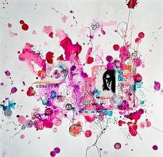 """Скрапим на радость: Irina Teeshoom - """"Будем знакомы"""" в рамках проекта """"Акварель"""""""