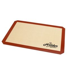 On Sale Now! Limited Time Only! Holder Bakeware Silicone Baking Mat- Professional Grade Sheet liner- 11-5/8 x 16-1/2 Great gift Ideas Especially With Thanks Giving and Christmas Right Around The Corner- For Professional Grade Cookie Sheets- Non Toxic- Re Usable Silicone Mat- Keeps your baking sheets clean- Great for the Whole Family! We Promise You Will Absolutely Love Our Holder Bakeware Baking Mat! If For Some Odd Reason You Do Not - We Offer 100% Money Back Guarantee! *** New and awesome