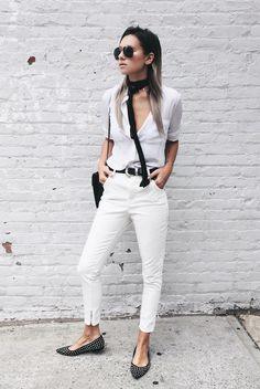 WeWoreWhat | skinny scarf trend