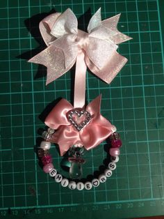 Pram charm Pram Charms, Dummy Clips, Baby Prams, Key Rings, Hair Band, Biscuit, Cute Babies, Projects To Try, Arts And Crafts