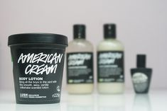 Review: Lush American Cream bodylotion | Oh Fashion