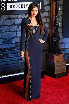 Selena Gomez in Atelier Versace at the MTV VMAs 2013