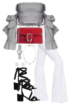 """Untitled #5451"" by theeuropeancloset on Polyvore featuring Sonia Rykiel, Petersyn, Gucci, Kenneth Cole, Casio and Marc by Marc Jacobs"