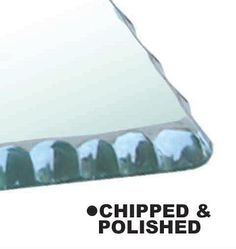 Chipped & Polished Edge