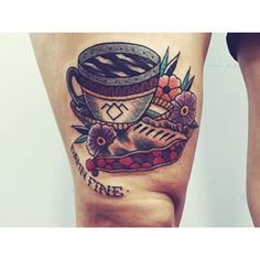 Thinking about a Twin Peaks tat. Something like this. It would definitely need to incorporate cherry pie and coffee.